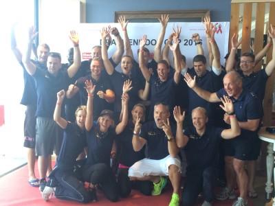 Team east beim Drachenbootrennen